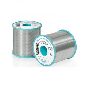WSW SAC M1 0,8 mm Lead-free solder wire for longer tip lifetime