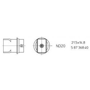 ND 20 Hot Air Nozzle