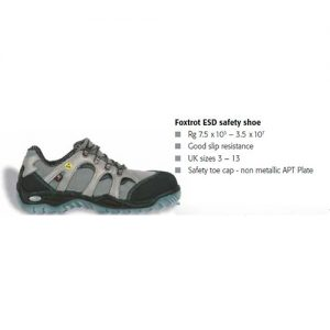 Foxtrot ESD safety shoe | Teksin