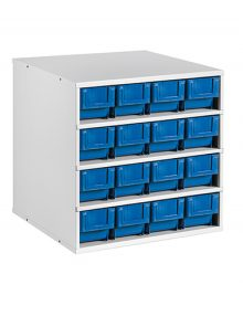 Stationary modular storage counter