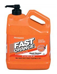 Fast Orange pump bottle
